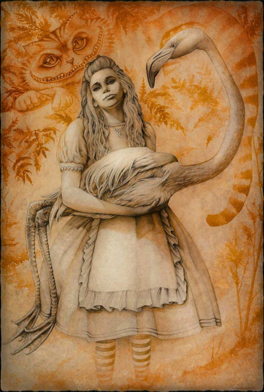 Alice-&-Flamingo