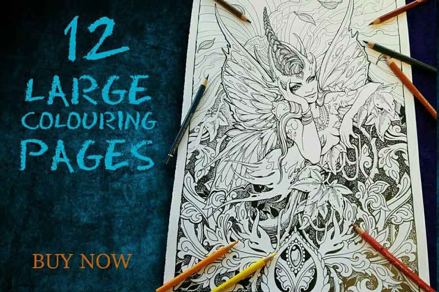 colouring pages for sale